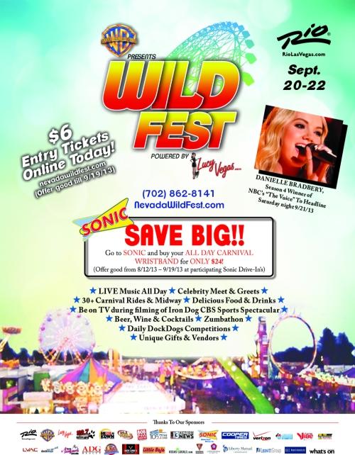 Nevada Wild Fest will donate 100% to Lili Claire Foundation